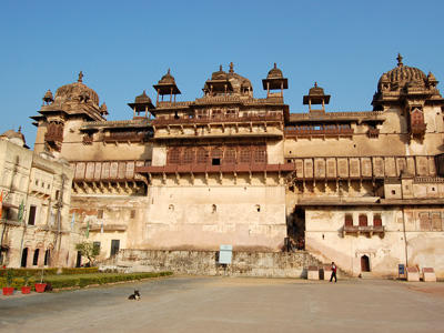 Raja Mahal, Orchha, 2012