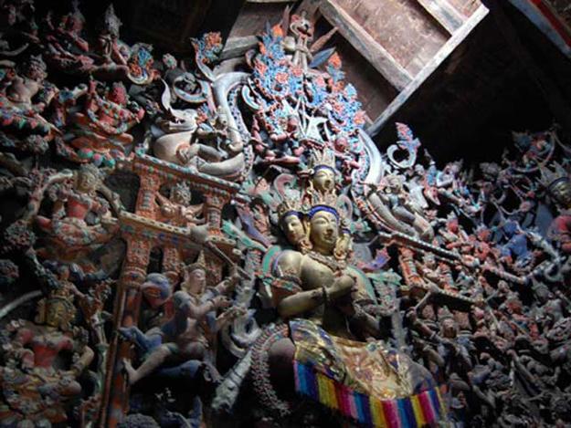 GURU LHAKHANG AND SUMDA CHUN TEMPLES
