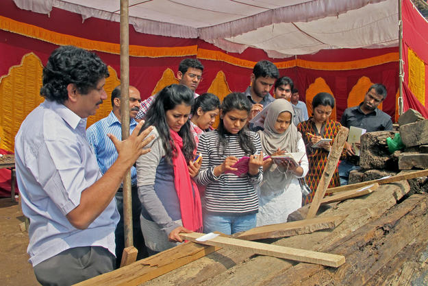Three day workshop on the conservation of timber , 2013