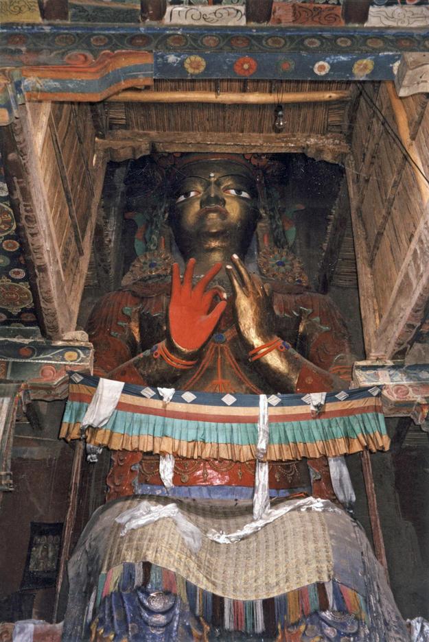 Maitreya Buddha in Chamba Lhakhang, 2000