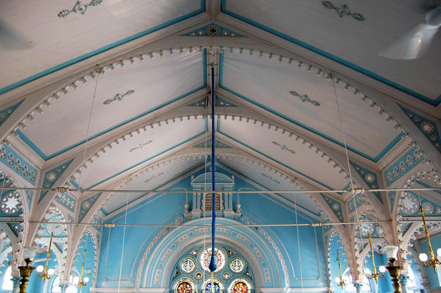 Ceiling and cast iron structure, 2009