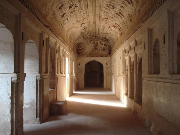 Interior of Laxmi Mandir, 2012