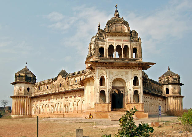 Laxmi Temple in Orchha, 2012