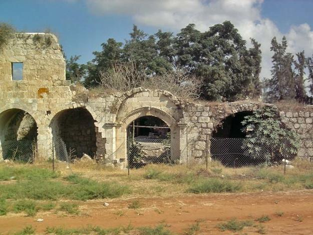 The remains of the khan in need of conservation, 2008
