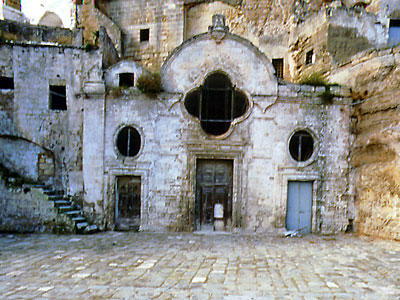 RUPESTRIAN CHURCHES OF PUGLIA AND THE CITY OF MATERA