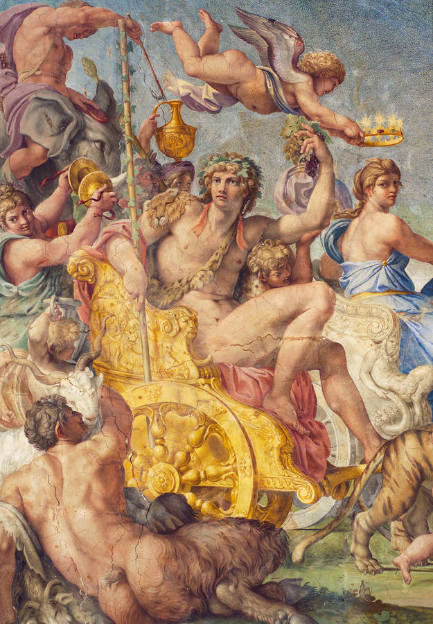 Detail with Ariadne and Bacchus, 2012