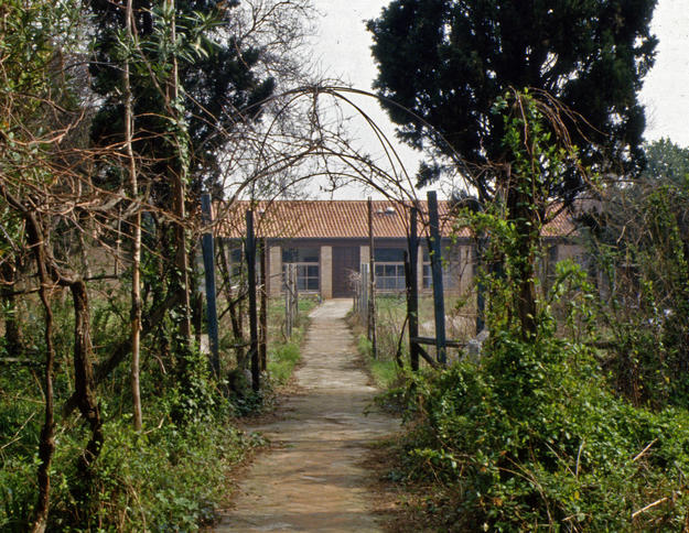 Entrance of the facility, located in the historic Cannaregio district, 1982