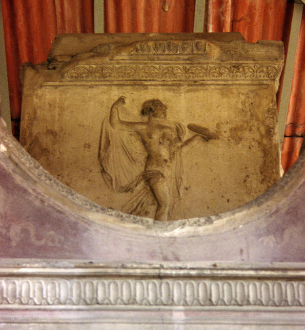 Detail from the Tomb of Vestorio Prisco, 1997