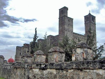 San Juan Bautista convent in Cuauhtinchan