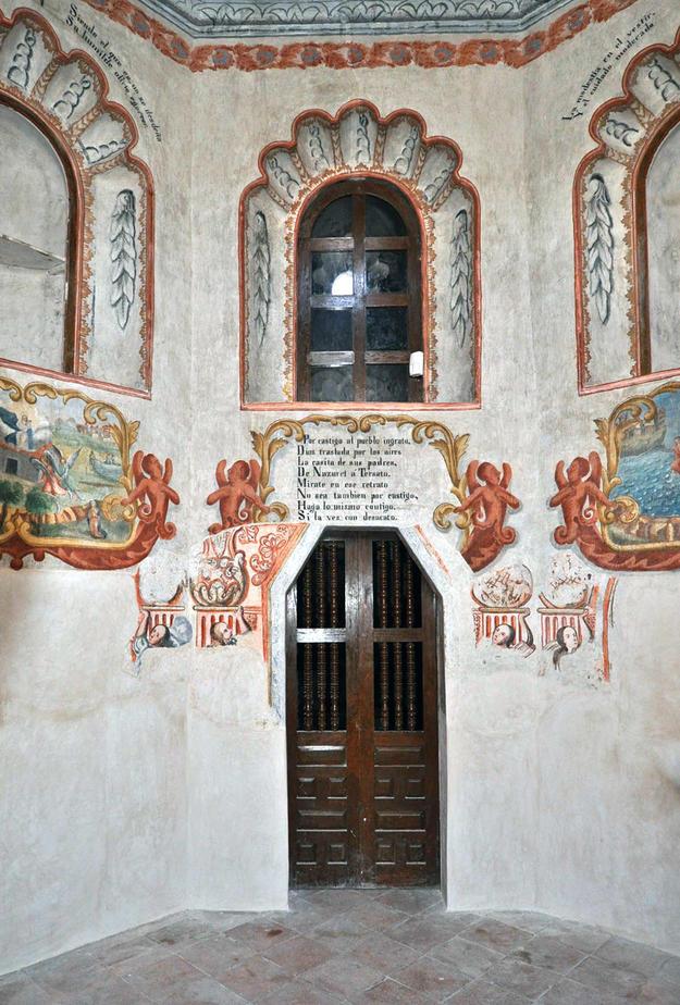Camerin de la Virgen de Loreto after conservation, 2011