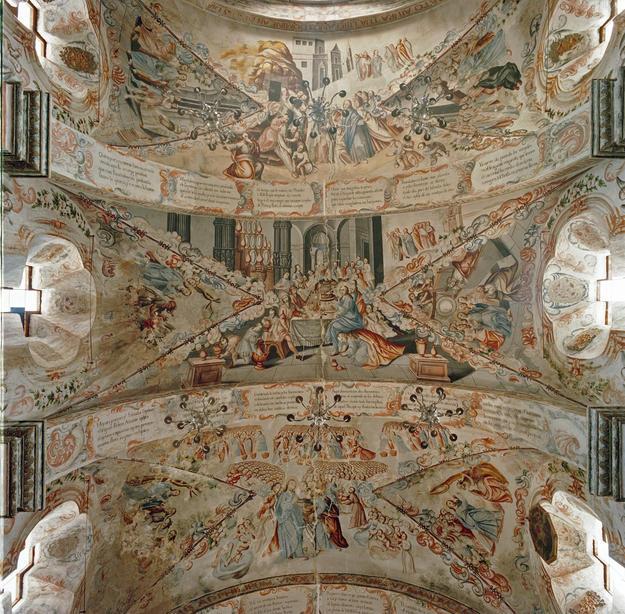 Murals inspired by the life of San Ignacio de Loyola, 1999