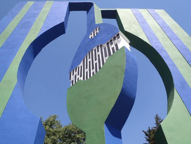 Puertas al Viento by Helen Escobedo, 2011