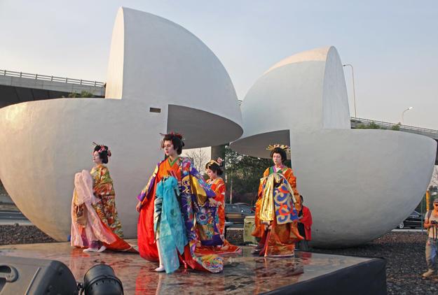 Inauguration of the new location of Esferas by Kioshi Takahashi, 2013