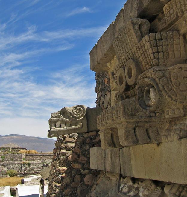 Façade of the temple, 2006