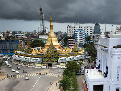YANGON HISTORIC CITY CENTER