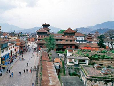 Durbar squares