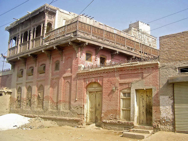 Shikarpoor Historic City Center