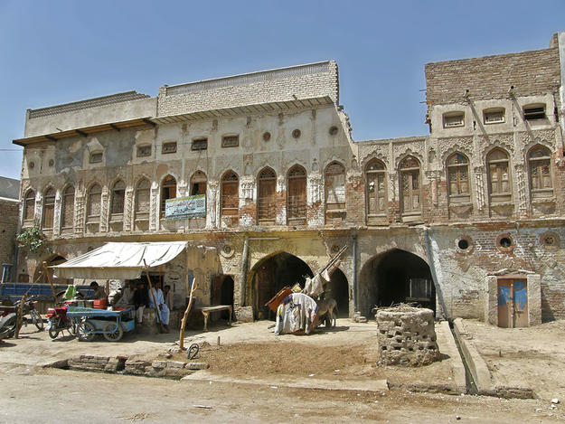 Shikarpoor Historic City Center