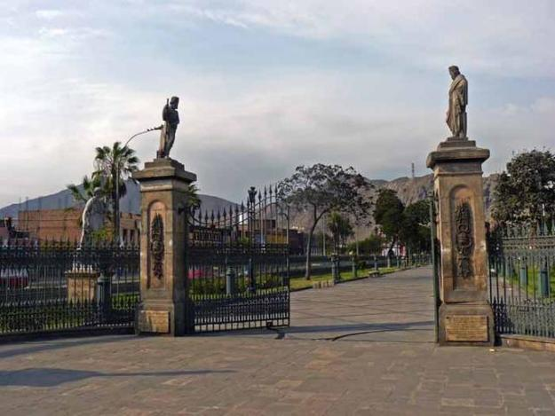 ALAMEDA DE LOS DESCALZOS AND PASEO DE AGUAS
