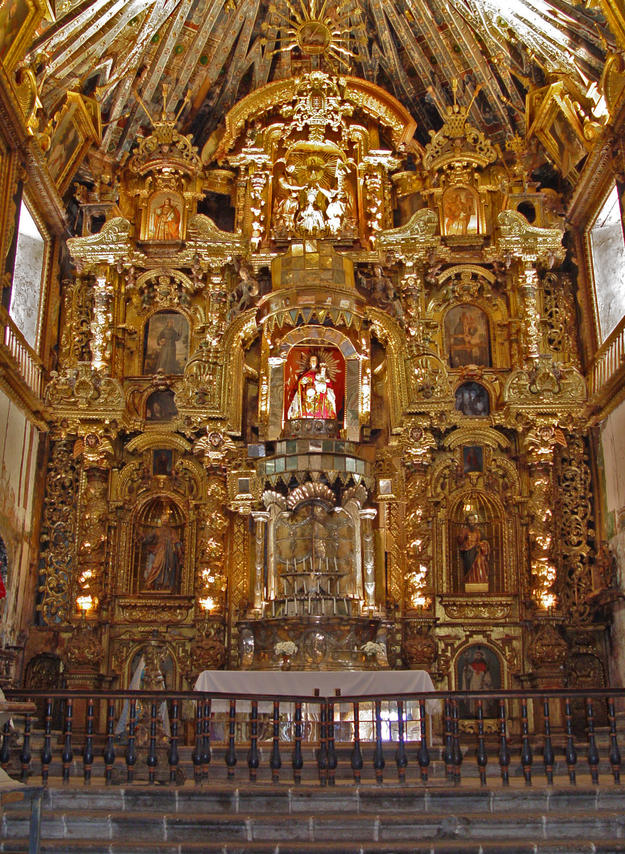 The ornate altar, 2006