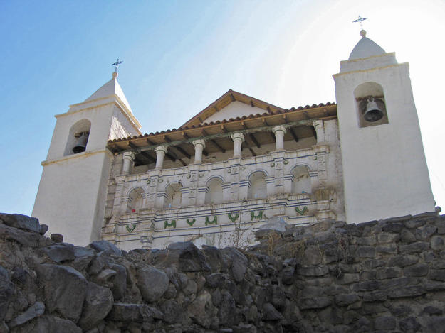 Façade of Coporaque, 2007