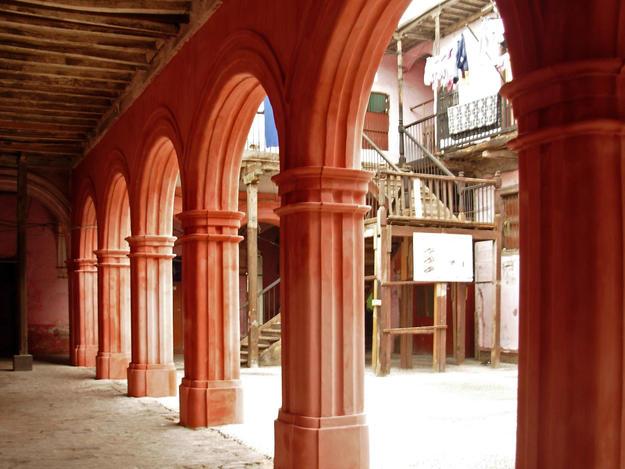 Arcade after conservation, 2011