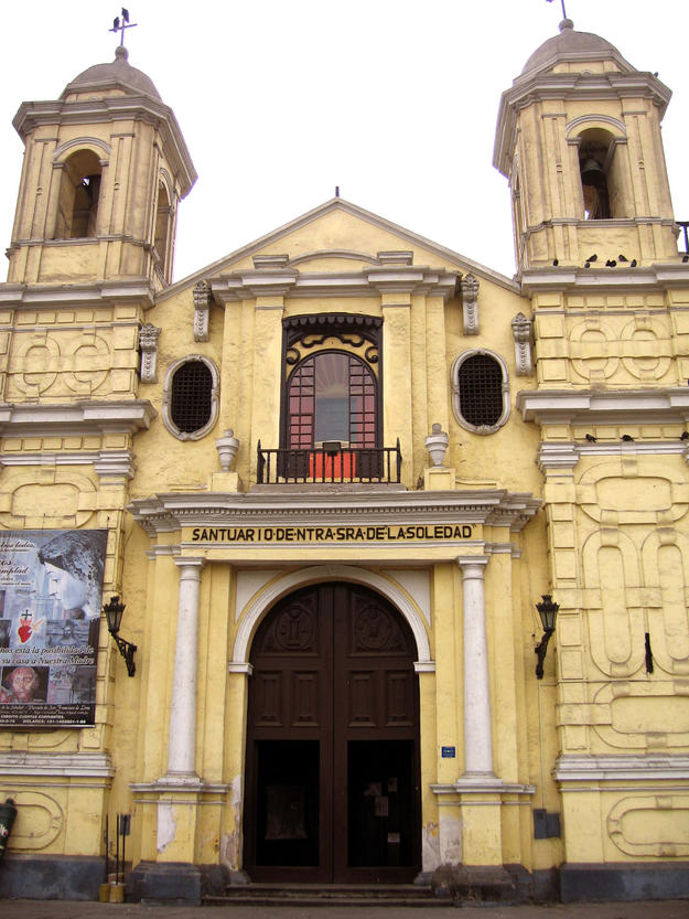 Façade of the Iglesia de la Soledad, 2007