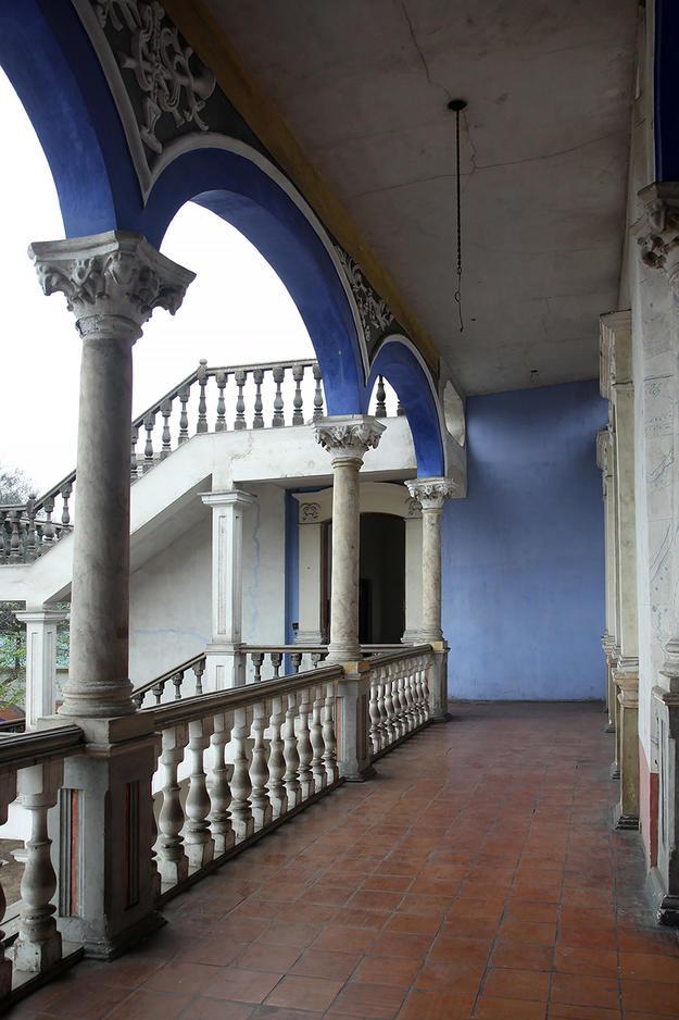 Interior of the eighteenth-century suburban villa, 2014
