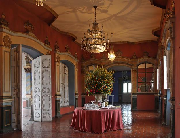 The late rococo style interior, 2014