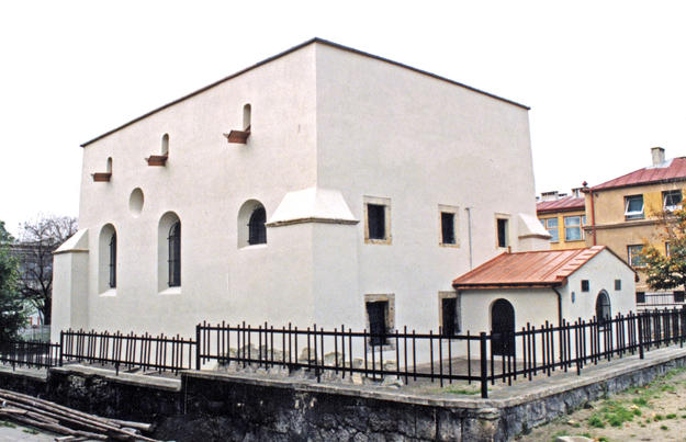 Northeastern façade after conservation, 2001