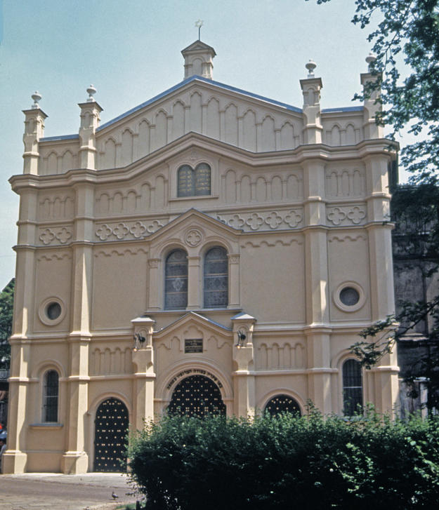 Façade after conservation, 1996