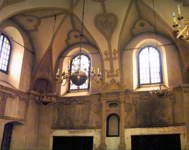 Eastern wall and vaulting, 2005