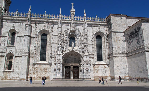 Manueline, or Portuguese late Gothic, façade , 2010
