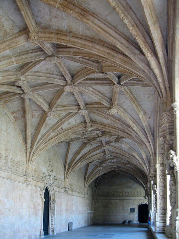 Detail of the vaulted ceiling, 2008