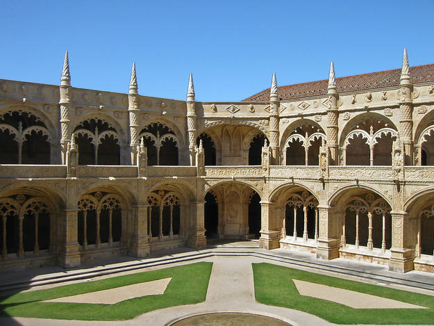View across the courtyard, 2002