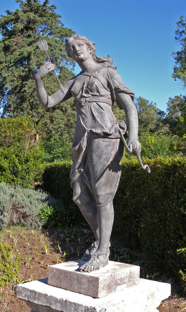 The statue of Diana, 2010