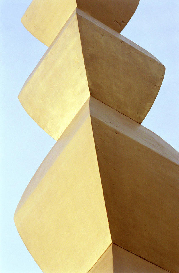 Modules of the column after conservation, 2001