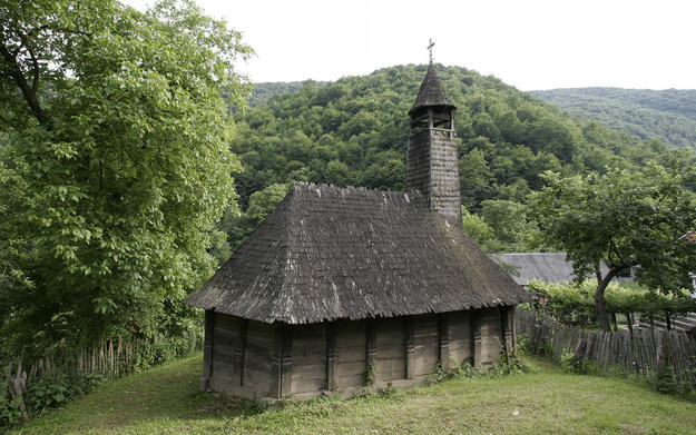 The wooden church of Valari, 2009