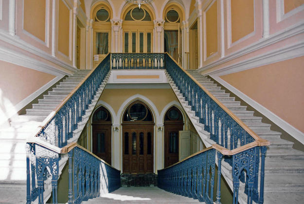 Southern staircase, 2004