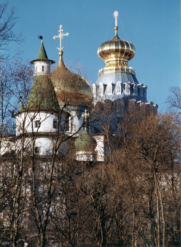 Domes of the Cathedral of the Resurrection, 2001