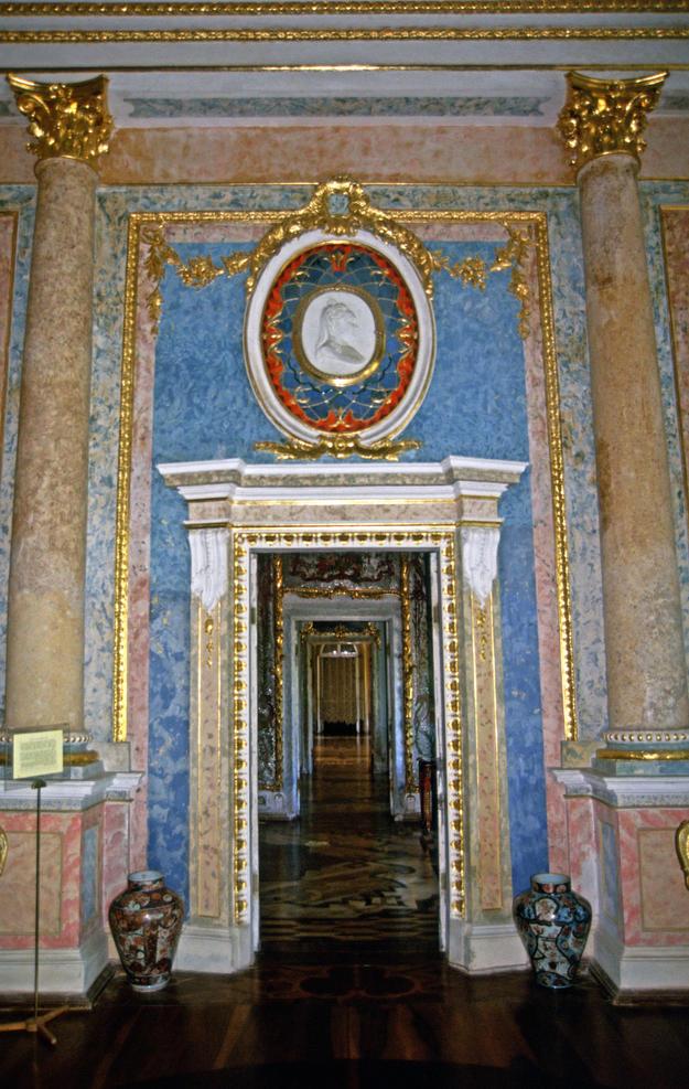 A gilded doorway, 2002
