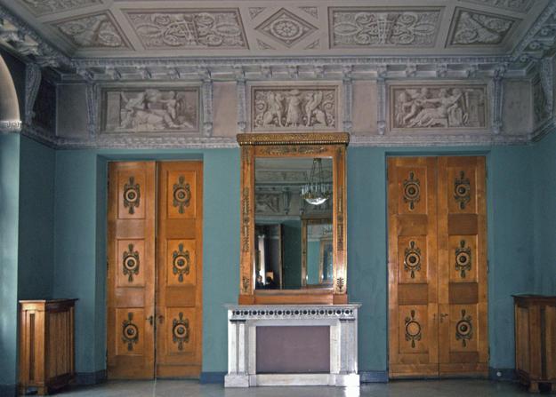 The elaborate vestibule, 1997
