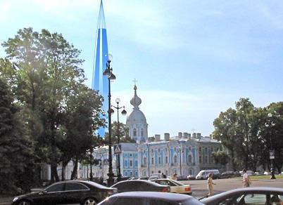 St. Petersburg Historic Skyline