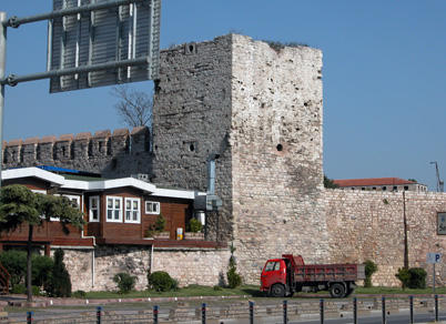 Historic Walls of Istanbul