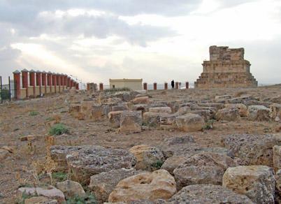 Medracen and el-Khroub Numidian Royal Mausolea