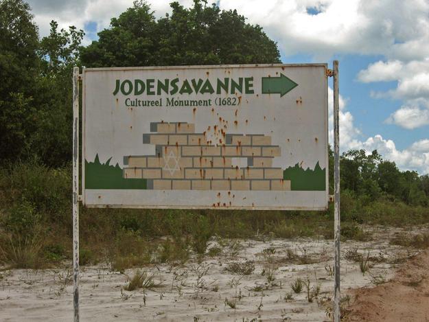 Signage at site, 2009