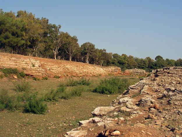 The Hellenistic stadium, 2004
