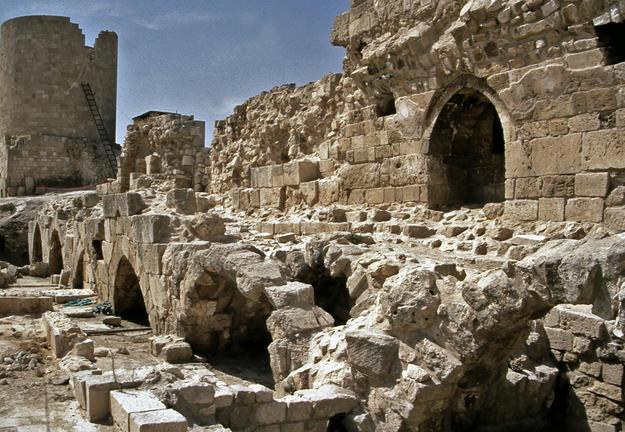Inside the citadel, 2002