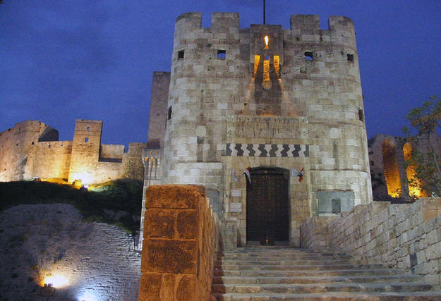 Citadel of Aleppo, 2006