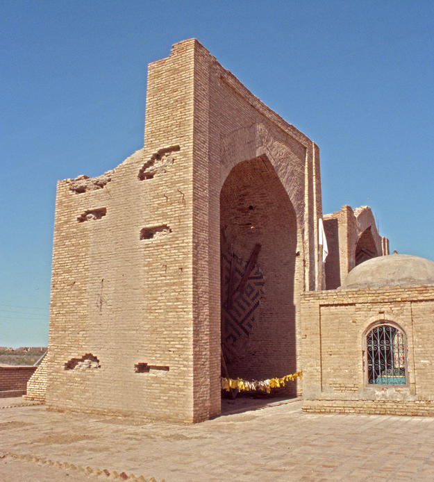 View from the southwest of the Ashkab complex, 2004